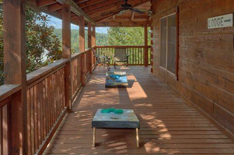 Outdoor Games 6 Bedroom Cabin Sleeps 18 - KenKnight's Wilderness Lodge