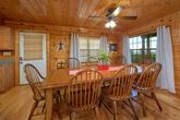 Spacious Cabin with Large dining area
