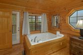 Premium Cabin with Jacuzzi in Master Bedroom