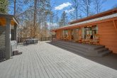 4 Bedroom Cabin with Large Back Deck