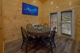 2 bedroom cabin with poker table game room
