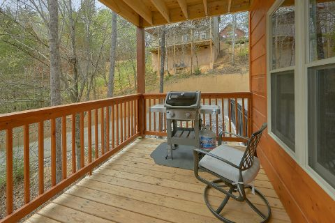 2 bedroom cabin with gas grill and fire pit - Laurel Splash