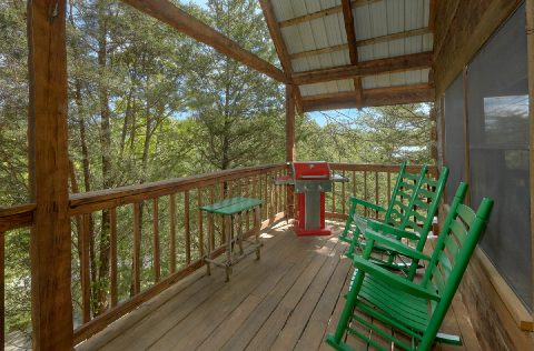 Pigeaon Forge 1 Bedroom Cabin Rocking Chairs - 4 Little Bears