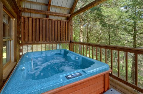 Private Hot Tub Honeymoon Cabin - 4 Little Bears
