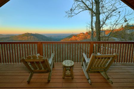 A Tennessee Twilight: 2 Bedroom Pigeon Forge Cabin Duplex Rental