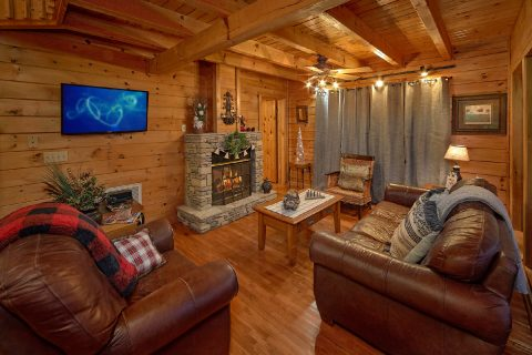 2 Bedroom 2 Bath Cabin Sleeps 7 - Lazy View Lodge