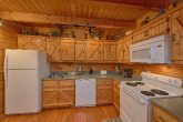 Open Kitchen Floor Plan 2 Bedroom Cabin