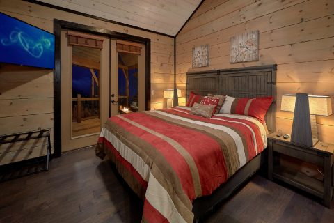 Luxurious Game Room 5 Bedroom Cabin Sleeps 14 - LeConte Views