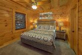 King Bedroom with Flatscreen TV Sleeps 13