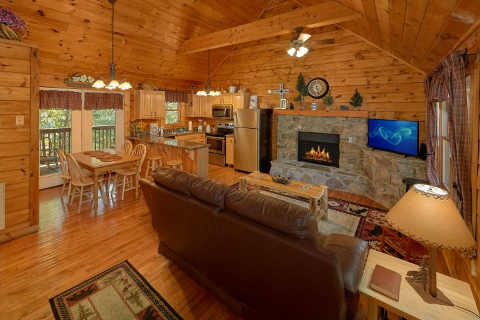 Cabins At The Crossing 2 Bedroom Sleeps 6 - Lil Country Cabin