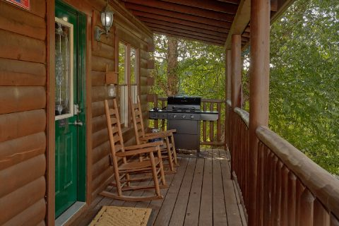 2 Bedroom Cabin Gas Grill - Lil Country Cabin
