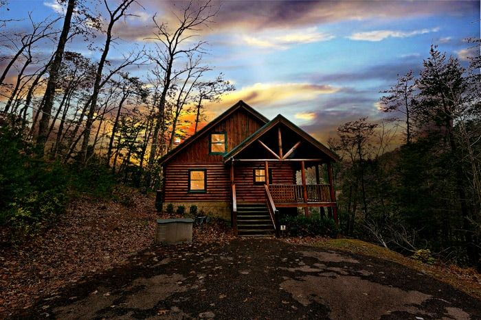 Little Cove Hideaway Cabin Rental Photo