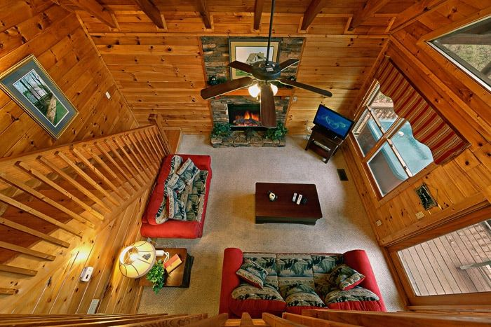 Cabin with Living Room with Wooded Views - Little Cove Hideaway