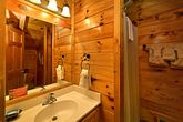Cabin with Shower in Bathroom