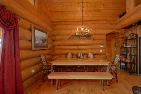 4 Bedroom Lodge with Large Dining Table - Lodge Mahal