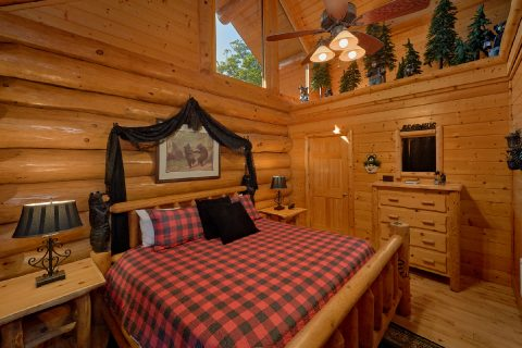 4 Bedroom Cabin with 4 Master Suites - Lodge Mahal