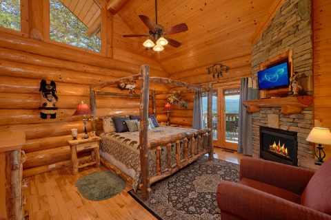 Luxury Cabin with 2 King Suites and Fireplaces - Lodge Mahal