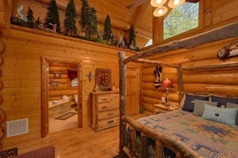 Premium Cabin with 4 Large Master Suites - Lodge Mahal