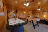 Cabin with Air Hockey, Pool Table and Foos Ball