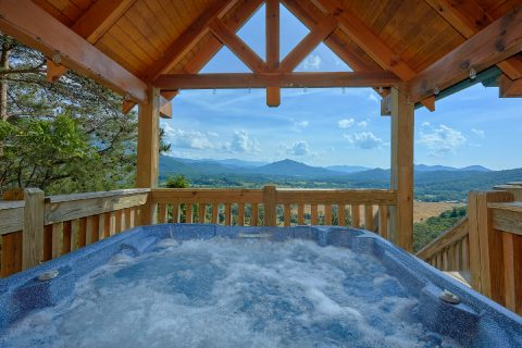 Private Hot Tub with Spectacular Views - Lodge Mahal