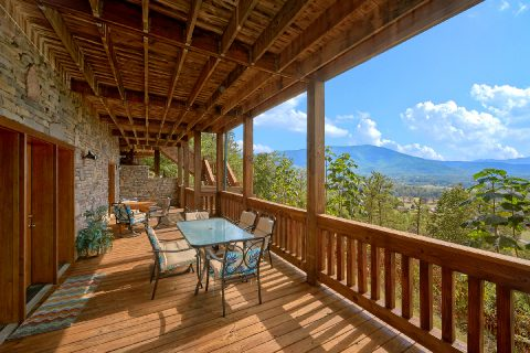 4 Bedroom Cabin Sleeps 10 with Spectacular Views - Lodge Mahal