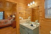 3 bedroom cabin with luxurious Master Bath