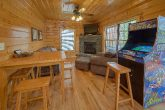 Cabin with 2 Arcades, Game Room and Fireplace