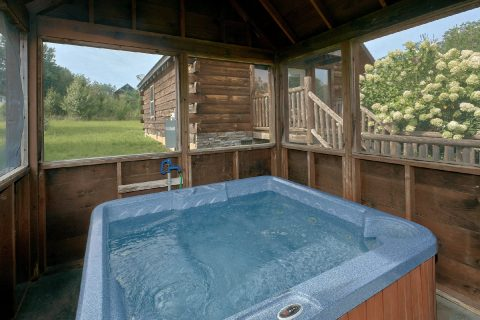 Private Hot Tub - Love Without End
