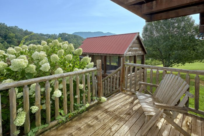 Covered Decks with Rocking Chairs - Love Without End