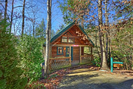Sugar Plum: 1 Bedroom Sevierville Cabin Rental