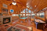 Premium Cabin with Fully Furnished Game Room