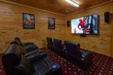 Luxurious Theater Room in 5 bedroom cabin rental