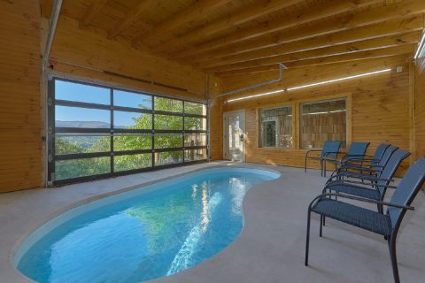 Luxury cabin rental with Private Swimming Pool - Majestic Peace
