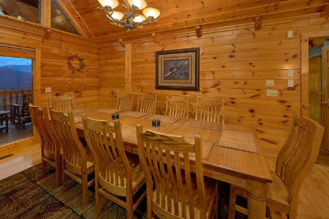 5 Bedroom cabin with Dining Room for 14 - Majestic Point Lodge