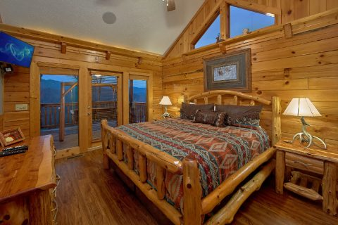 Cabin with 2 Master Suites on main level - Majestic Point Lodge