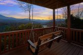 Cabin overlooking Gatlinburg with Porch swing