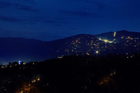Gatlinburg Views from Luxury 5 bedroom cabin - Majestic Point Lodge