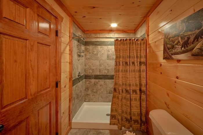 Bathroom with Walk-in Shower - Majestic Splash