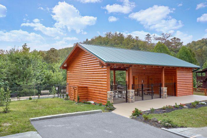 Resort Pavilion and Outdoor Pool - Majestic Splash