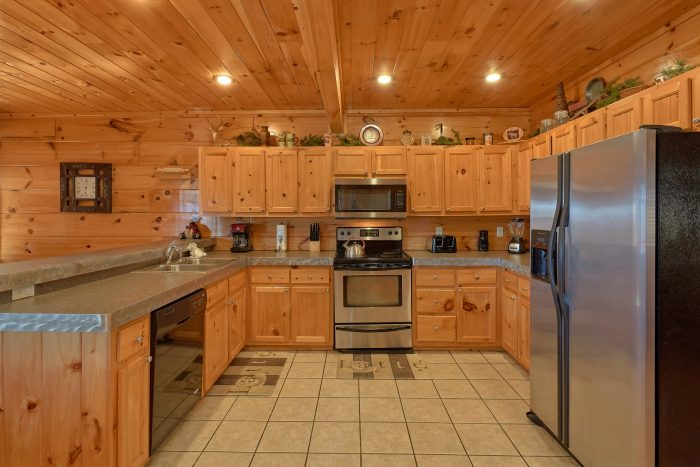 4 Bedroom Cabin with Fully Equipped Kitchen - Majestic View