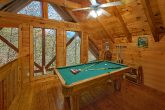 Loft Game Room with Pool Table and Air Hockey