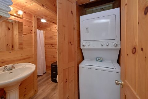 Master Bathroom with Washer and Dryer - Making More Memories