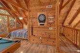 Open Loft Gameroom and Bedroom