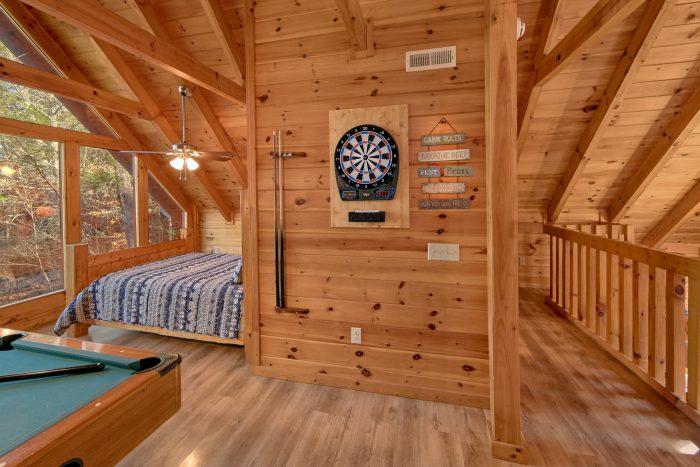 Open Loft Gameroom and Bedroom - Making More Memories