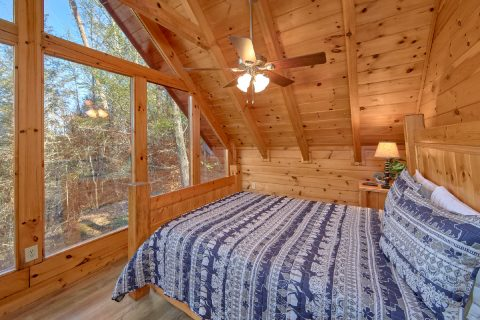 Wall to Ceiling Windows 2 Bedroom Cabin - Making More Memories