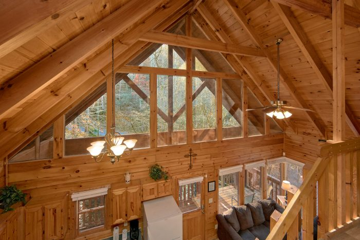 2 Bedroom Cabin with Large View Windows - Making More Memories
