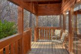 Outdoor Seating 2 Bedroom Cabin Sleeps 8