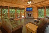 Luxury 6 Bedroom Cabin with Fireplace Sleeps 14