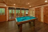 Game Room with Pool Table