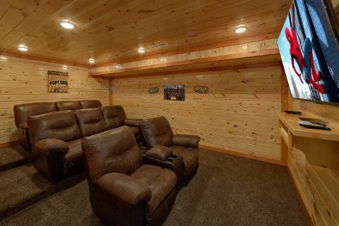 Luxury 6 Bedroom Cabin with Theater Room - Making Waves